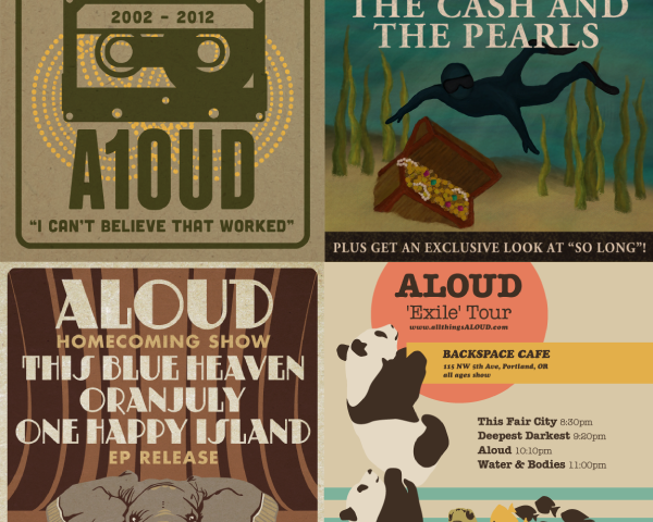 Aloud: Posters & Merch